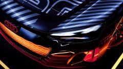 Audi e-tron GT: i gruppi ottici sono ancora