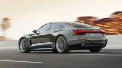 Audi e-tron GT: il 3/4 posteriore