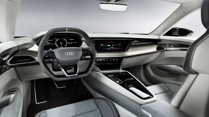 Audi e-tron GT: interni