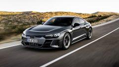 Audi e-tron GT quattro: visuale di 3/4 anteriore