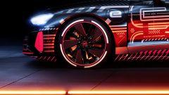 Audi e-tron GT: vista laterale