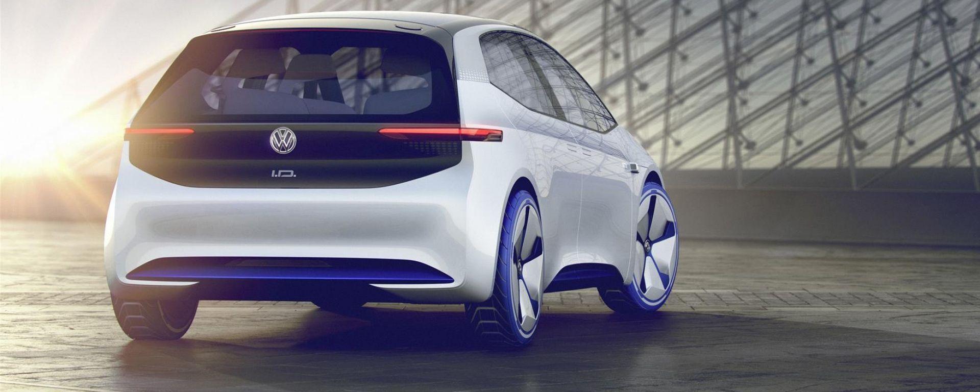 Audi e-tron Hatchback: c'è una cugina per la Volkswagen ID