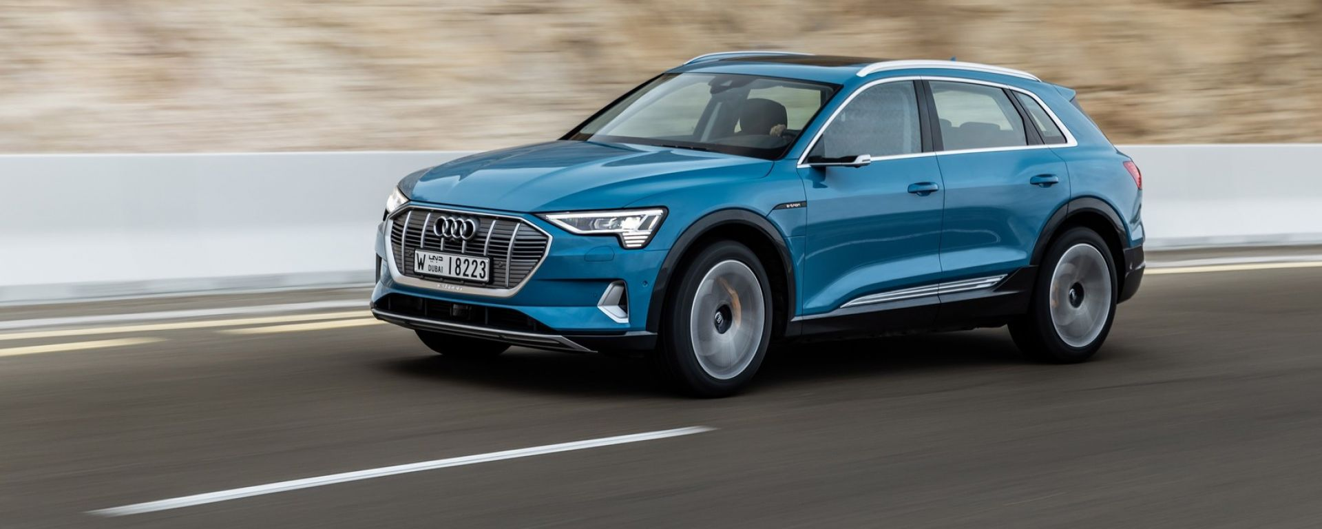 Audi e-tron, da 10 a 14 euro per 100 km: i costi di ricarica
