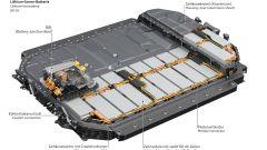 Audi e-tron, la batteria agli ioni di litio
