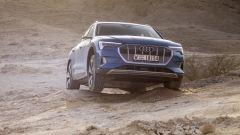 Audi e-tron: la prova in offroad