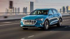Audi e-tron: la prova su strada