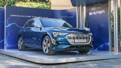 Audi e-tron, le soluzioni di ricarica studiate da Enel X