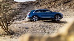 Audi e-tron: nella modalità offroad l'assetto si solleva di 35 millimetri