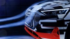 Audi e-tron Prototipo: aerodinamica al top per il Suv elettrico - Immagine: 6