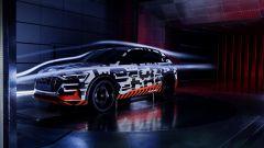 Audi e-tron Prototipo: aerodinamica al top per il Suv elettrico - Immagine: 9