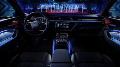Audi e-tron Prototipo: interni digitali in salsa A8 - Immagine: 3