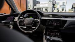Audi e-tron Prototipo: interni digitali in salsa A8 - Immagine: 8