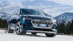 Audi e-tron quattro, elettro-Suv a prova di neve e ghiaccio - Immagine: 3