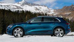 Audi e-tron quattro, elettro-Suv a prova di neve e ghiaccio - Immagine: 4