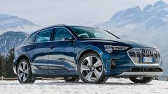 Audi e-tron quattro, elettro-Suv a prova di neve e ghiaccio - Immagine: 5