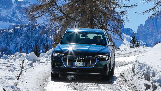Audi e-tron quattro, Suv 100% elettrico