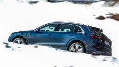 Audi e-tron quattro, elettro-Suv a prova di neve e ghiaccio - Immagine: 8