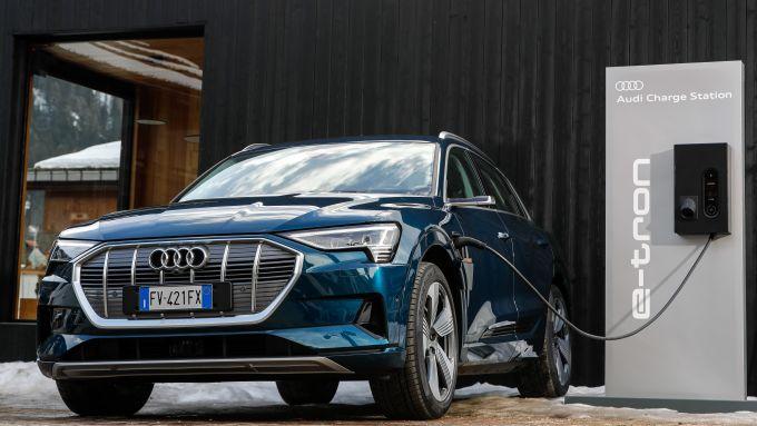 Audi e-tron quattro 2019
