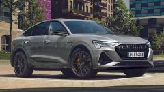 Audi e-tron S Line Black Edition 2021: dettagli neri per la carrozzeria
