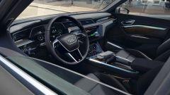 Audi e-tron S Line Black Edition 2021: la plancia di comando