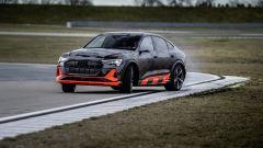 Audi e-tron S Sportback: aggressiva in pista
