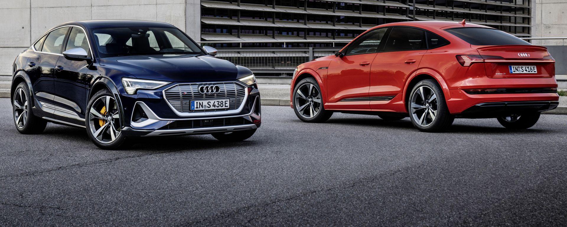 Audi e-tron S Sportback: il super SUV è l'unico a montare 3 motori elettrici