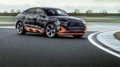 Audi e-tron S Sportback: visuale di 3/4 anteriore