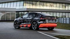 Audi e-tron S Sportback: visuale di 3/4 da dietro