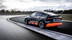 Audi e-tron S Sportback: visuale di 3/4 posteriore