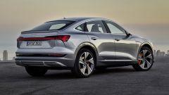 Audi E-tron Sportback 2020 vista posteriore