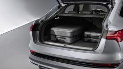 Audi E-tron Sportback bagagliaio