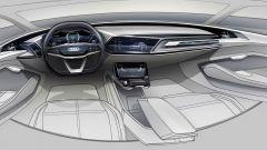 Audi e-Tron Sportback concept, gli interni
