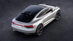 Audi e-tron Sportback concept, ha 550 litri di bagagliaio