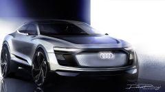 Audi e-Tron Sportback concept, i primi sketch