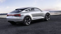 Audi e-tron Sportback concept, il trequarti posteriore