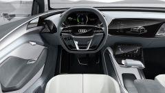 Audi e-Tron Sportback concept, la plancia