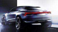 Audi e-Tron Sportback concept, la suvcoupé elettrica