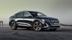 Audi e-tron Sportback Edition one: 450 km di autonomia