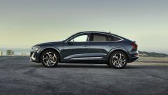 Audi e-tron Sportback Edition one: visuale laterale