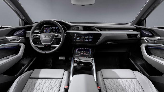 Audi E-tron Sportback interni