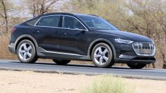 Audi e-Tron Sportback: la fiancata