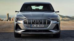 Audi e-tron Sportback: la prima vettura di serie con fari LED Digital Matrix
