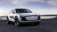Audi e-tron Sportback: la suvcoupé elettrica di Audi arriverà nel 2019