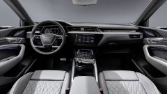 Audi E-tron Sportback plancia