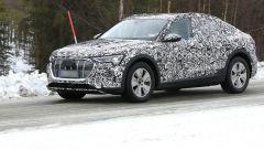 Audi e-tron Sportback, prime foto spia