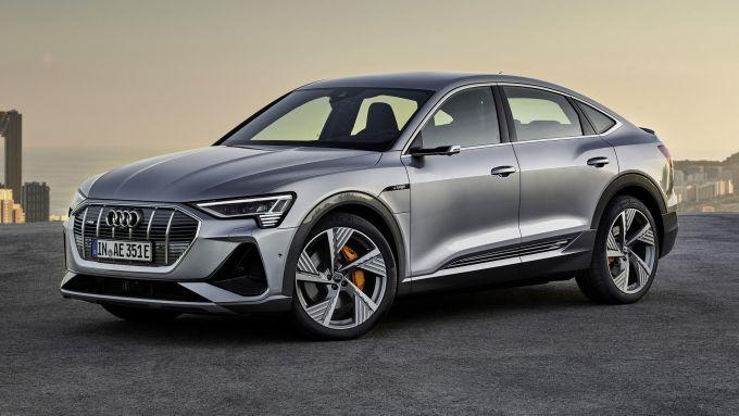 Audi e-tron Sportback: un altro grande successo di modello elettrico in Norvegia