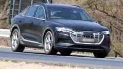 Audi e-tron Sportback: vista frontale