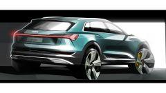 Audi e-tron SUV, gli sketch