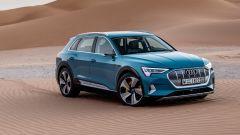 Audi e-tron: la video-prova da Abu Dhabi