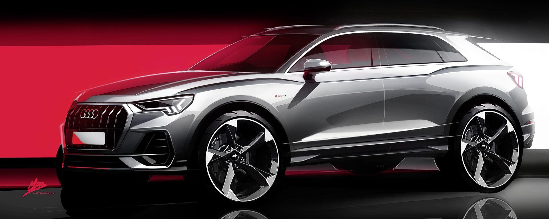 Audi e-tron: un SUV elettrico compatto in arrivo al salone di Ginevra 2019